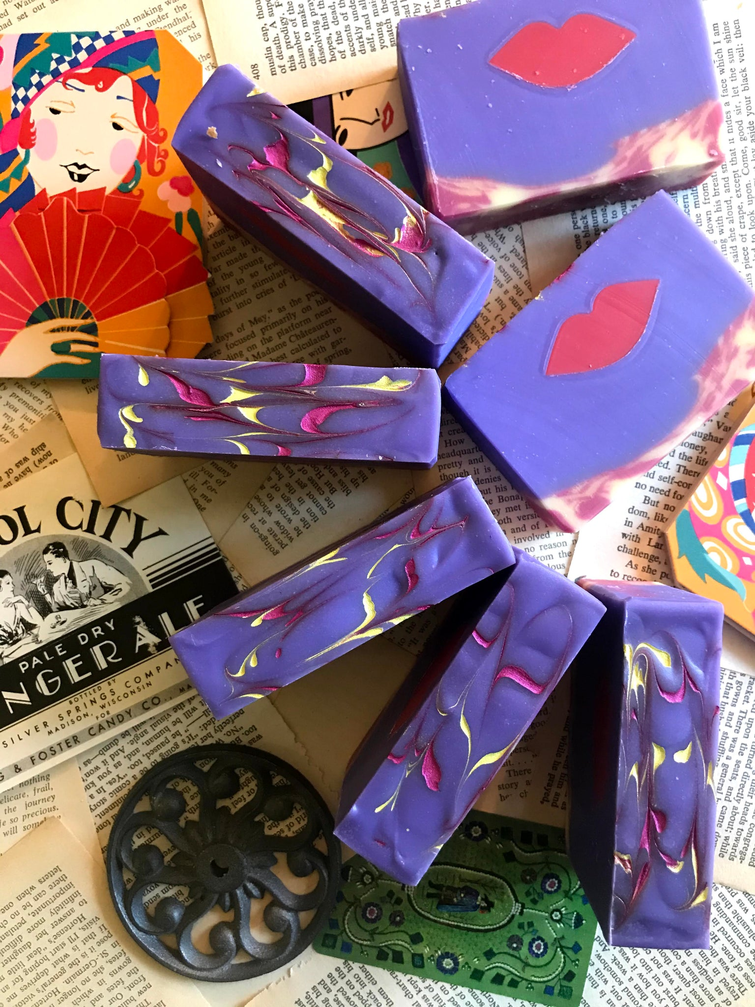 the great gatsby inspired soap bookish apothecary