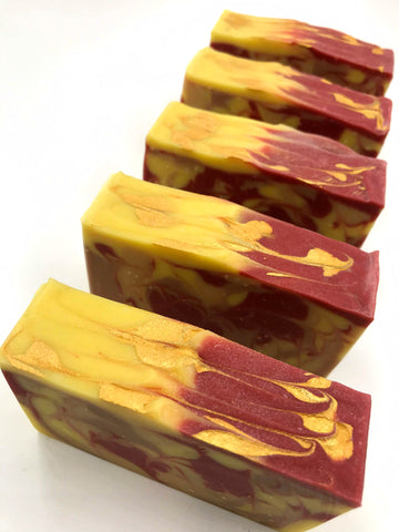 beauty and the beast handmade artisan soap bookish apothecary