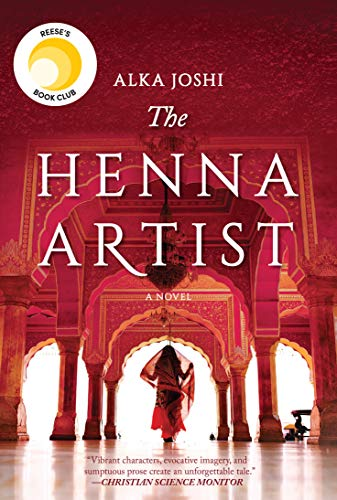 JULY BOOK OF THE MONTH:  THE HENNA ARTIST