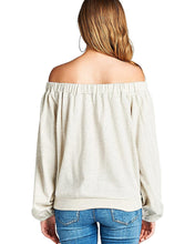 Kangaroo pocket French terry knit athletic pullover-style top