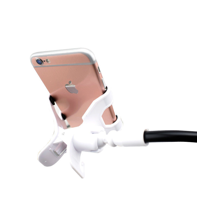 Universal Adjustable Phone Stand Holder For iPhone 5s 6 7 Huawei Samsung Galaxy Lock Bucket Bed Desk Mount With Gift