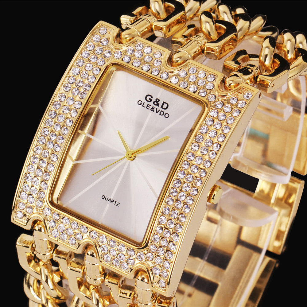 Women Wristwatches Quartz Watch Luxury Gold Watch Dress Relojes Ladies Gifts