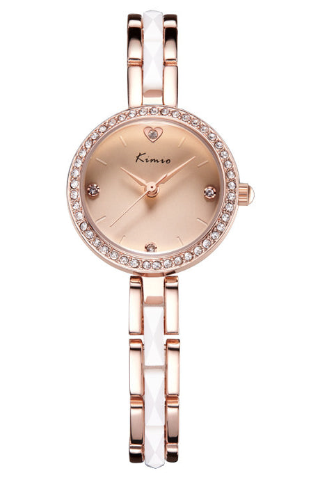 Kimio luxury diamond fashion elegant casual watches ladies bracelet watch