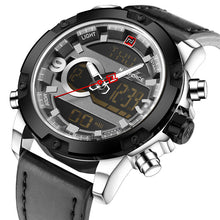 Men's NAVIFORCE Original Luxury Brand Quartz Digital LED Military Sports Wrist watch