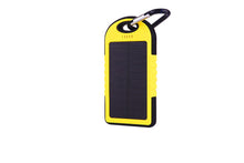 wopow Hot Waterproof Solar Power Bank 5000mAh Portable Charger Travel Enternal Battery Powerbank for Xiaomi Iphone 5S  Sumsang