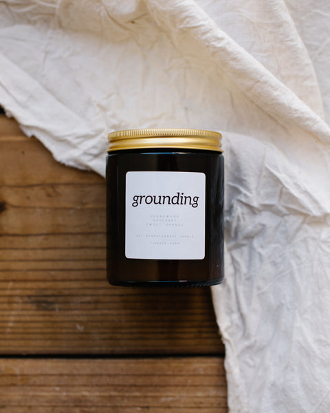 Aromatherapy Candle - Grounding