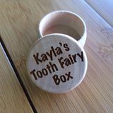 Personalized Tooth Fairy Keepsake Box - Black Dog Engraving