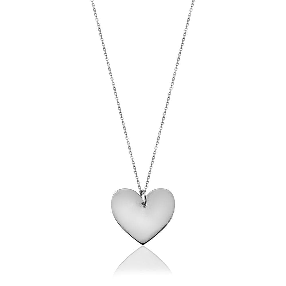 Long Necklace with Heart