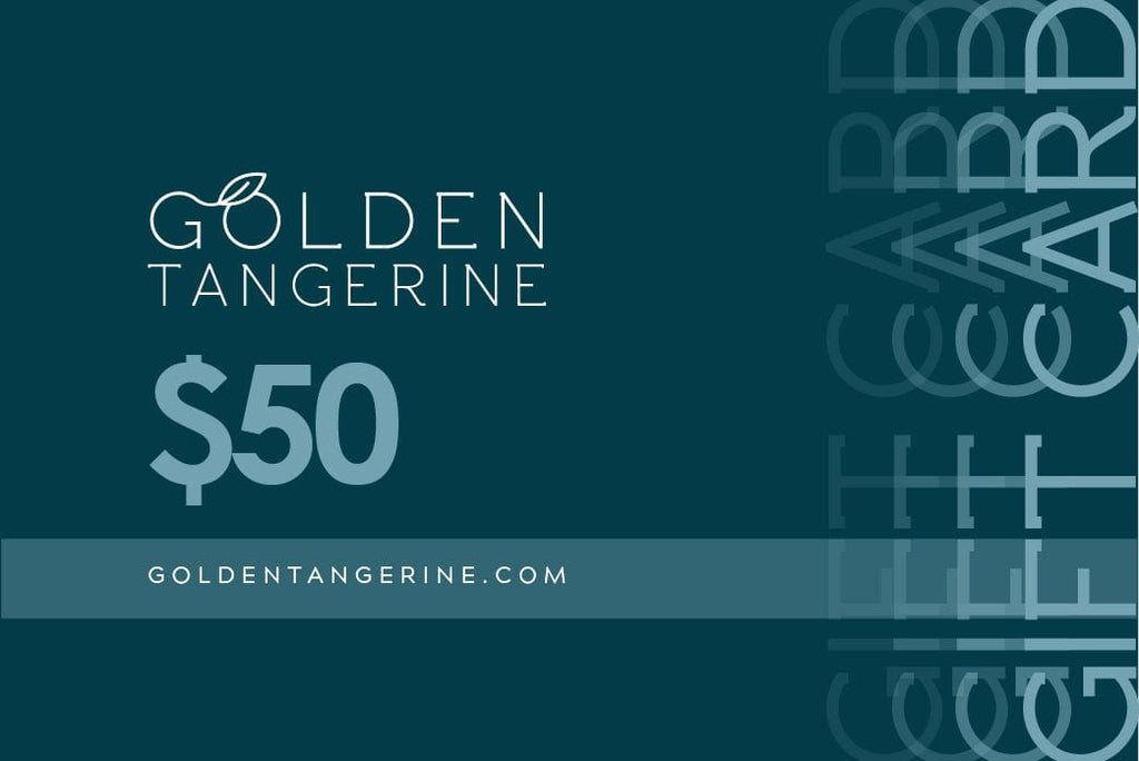 $50 Gift Card - Golden Tangerine