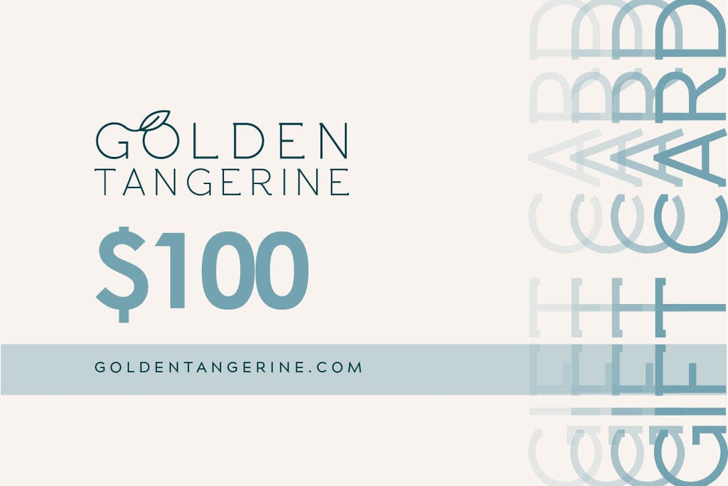$100 Gift Card - Golden Tangerine