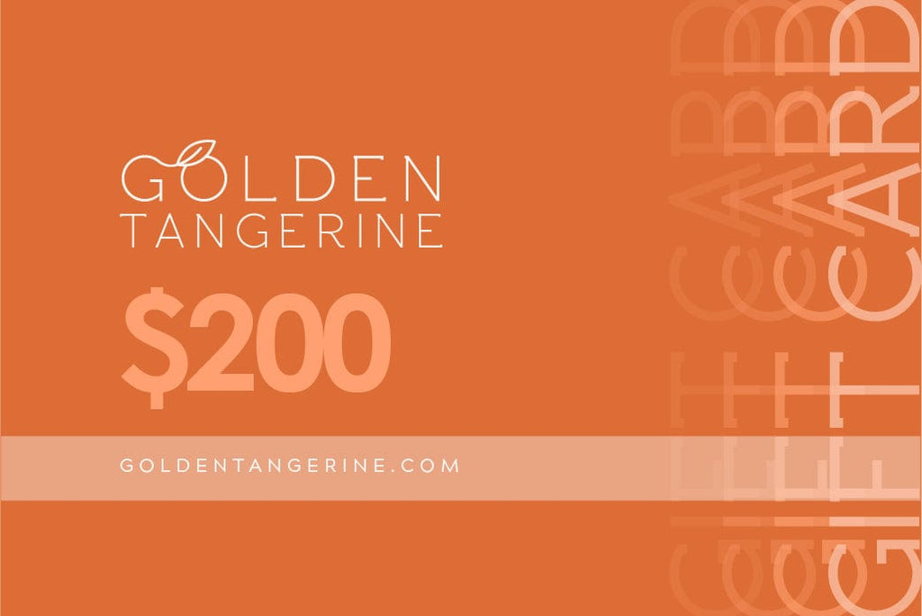 $200 Gift Card - Golden Tangerine