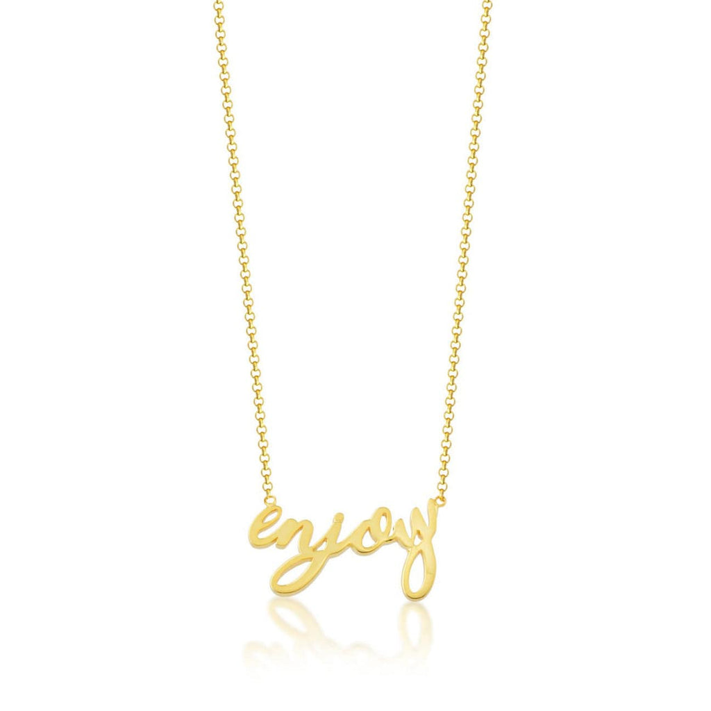 Yellow Gold Enjoy Necklace