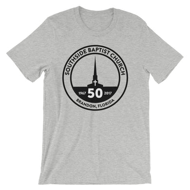 '50th Anniversary Logo' Athletic Heather Grey (Tee)