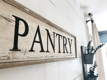 "Farmhouse ""Pantry"" Sign"