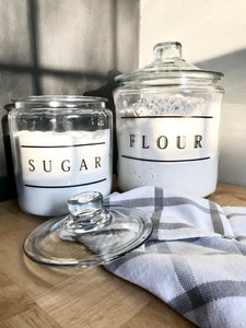 Farmhouse Kitchen Jars