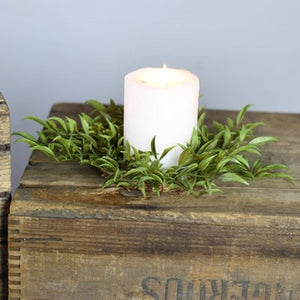Smilax Candle Ring