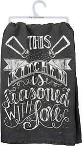 Tea Towel- Seasoned With Love
