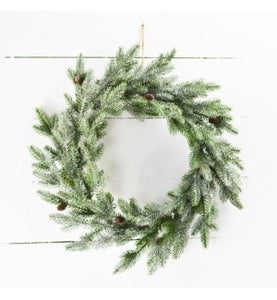 Evergreen Wreath 20""
