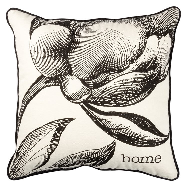 Throw Pillow Botanical Home