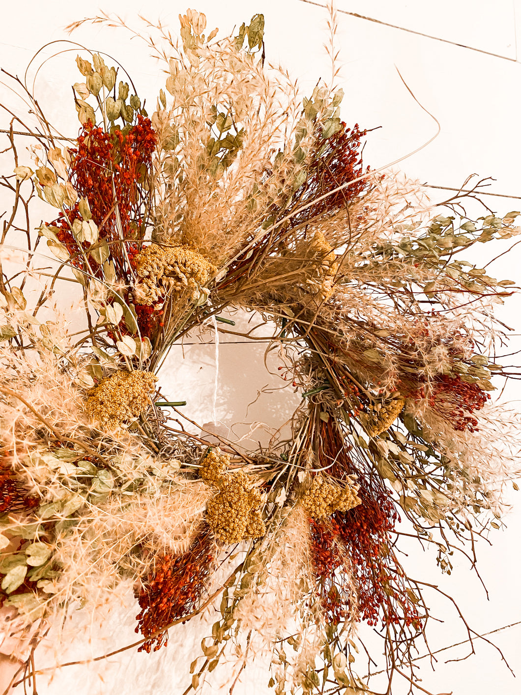 Fall Dried Wreath