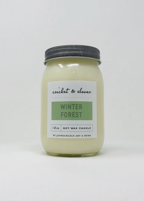 Winter Forest- Soy Candle