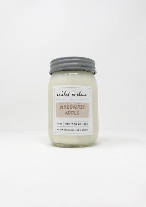 Macdaddy Apple- Soy Candle