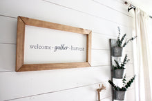 Welcome.Gather.Harvest