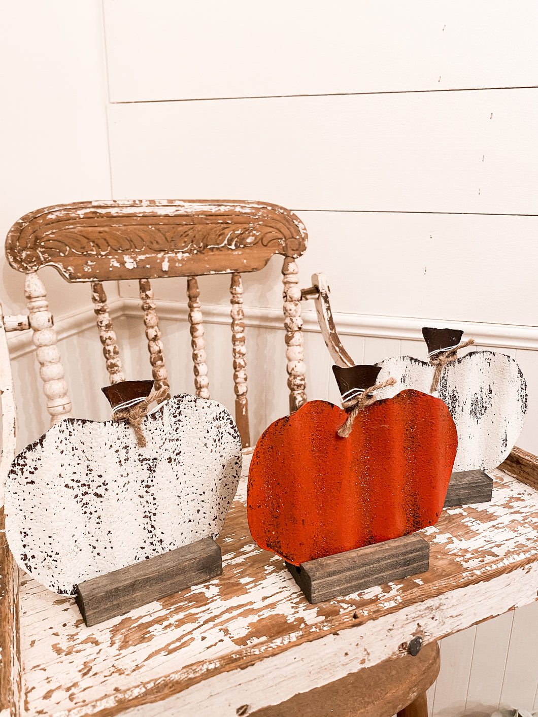 Tin Pumpkins