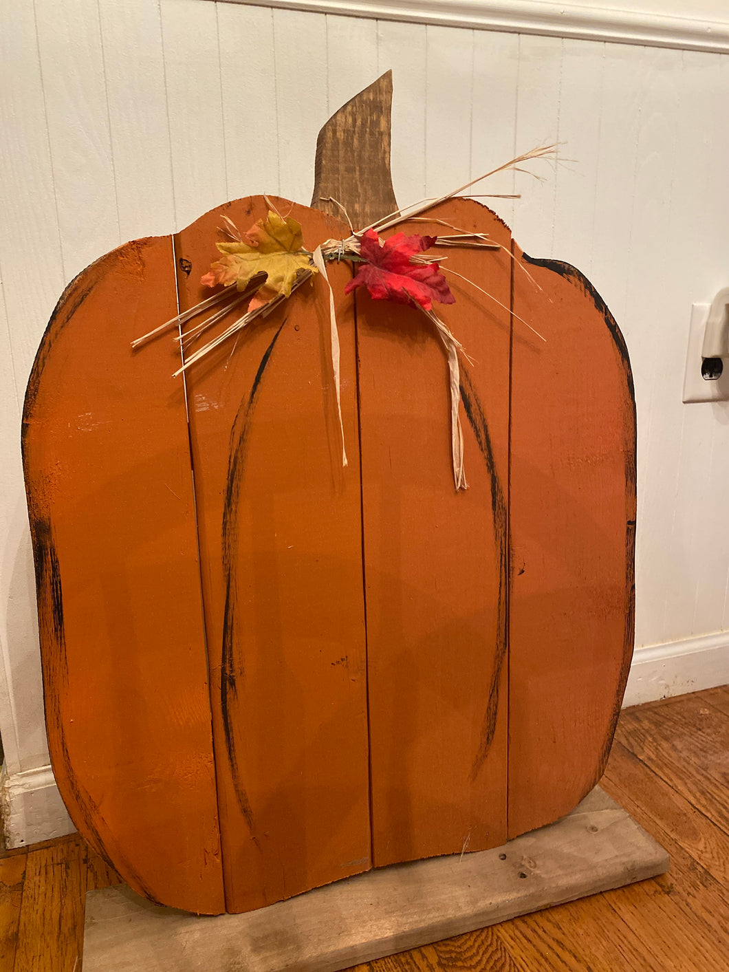 Pumpkin on Stand