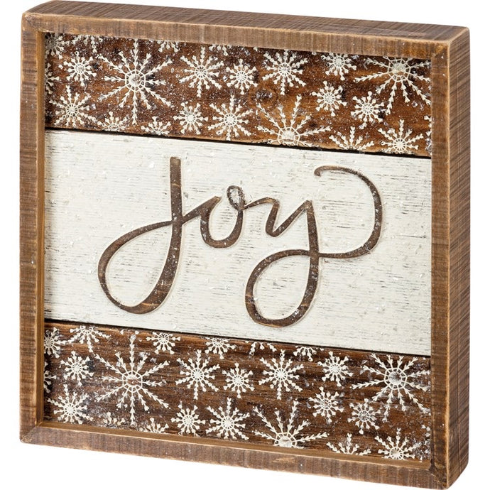 Joy Box Sign