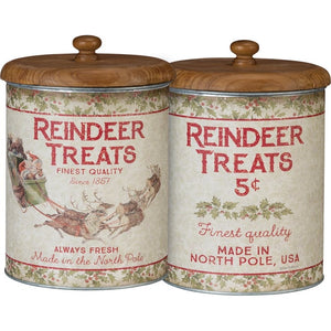 Reindeer Treats Canister