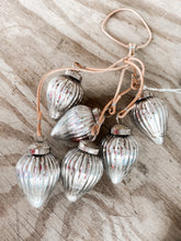 Mercury Teardrop Ornament Cluster