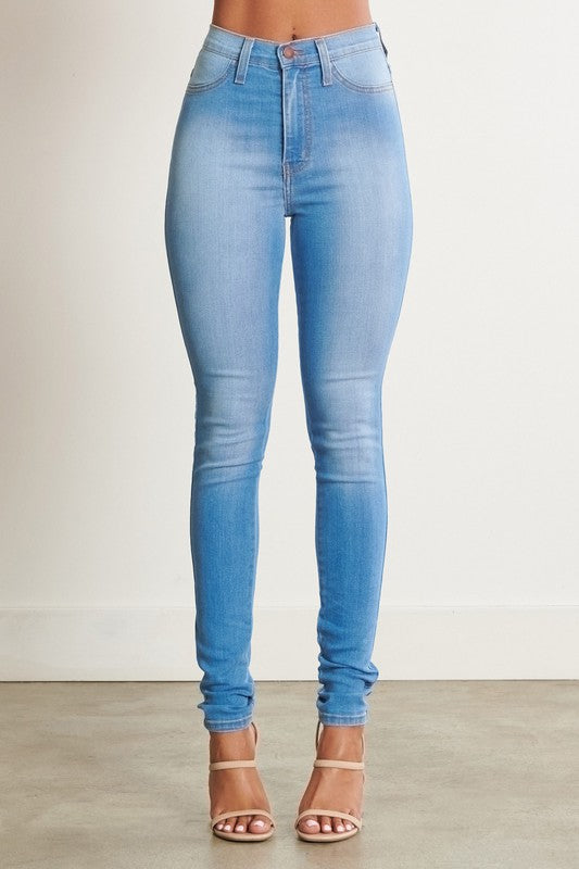 First Pick High Waisted Skinny Jeans