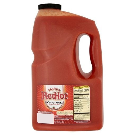 Frank's Red Hot Original Cayenne Pepper Sauce - 3.78L