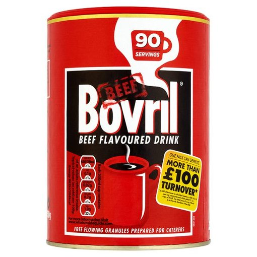 Bovril Flavoured Drink - Beef - 90 Servings - 450g Tin