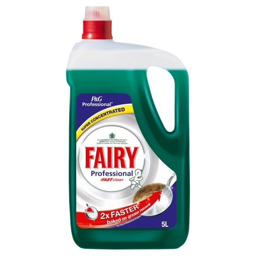 Fairy Professional Washing Up Liquid Fast Clean - 5 Litre Bulk Bottle