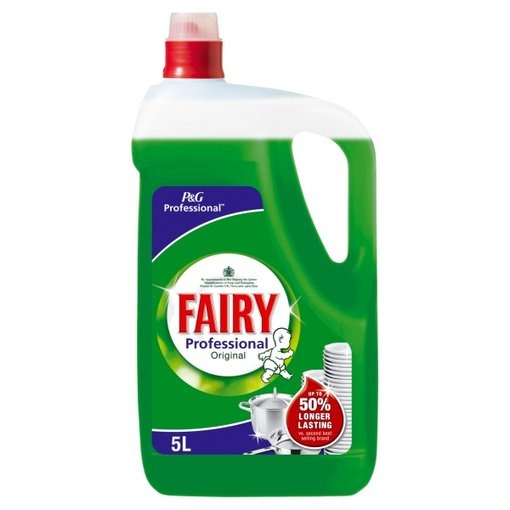 Fairy Professional Washing Up Liquid Original - 5 Litre Bulk Bottle