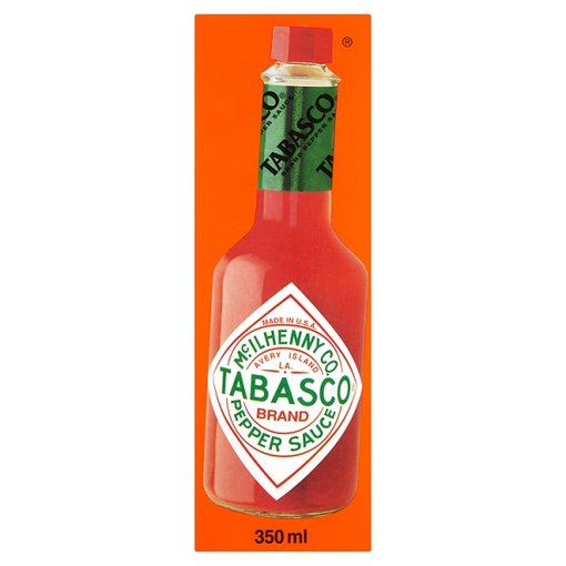 Tabasco Original Hot Pepper Sauce 350ml Bottle