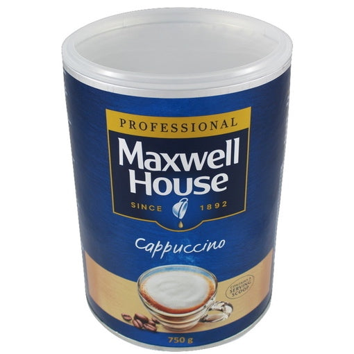 Maxwell House Instant Cappuccino Coffee 750g Tin