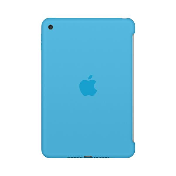 Apple iPad Mini 4 Silicone Case Blue Ref MLD32ZM/A