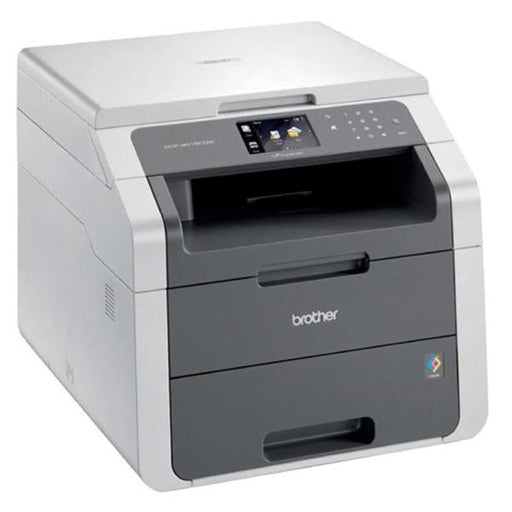 Brother DCP9015CDW Colour Laser Printer Copy Scan 9.3cm LCD 18ppm Duplex Wireless A4 Ref DCP9015CDWZU1