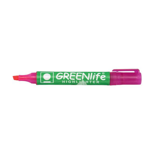 5 Star Eco Highlighter 1-5mm Line Pink [Pack 10]