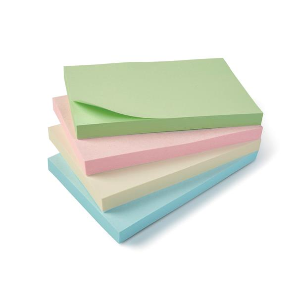 5 Star Eco Notes Recycled 127x76mm Re-Move Pastel [Pack 12]