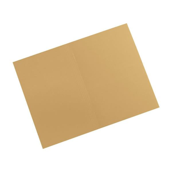 5 Star Elite Square Cut Folders Manilla 315gsm Foolscap Yellow [Pack 100]