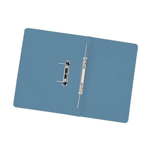 5 Star Elite Transfer Spring File Heavyweight 315gsm Capacity 38mm Foolscap Blue [Pack 50]