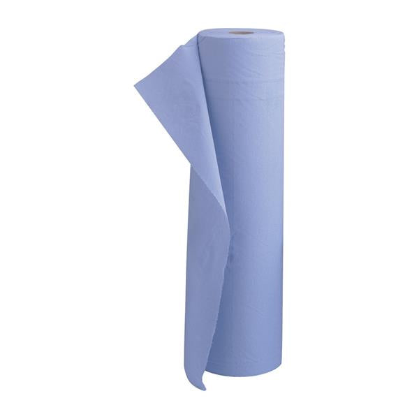 5 Star Facilities Hygiene Roll 20 Inch Width 100 per cent recycled 2-ply 130 Sheets W508xL457mm 40m Blue