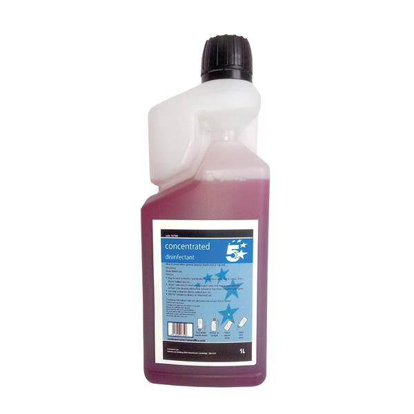 5 Star Facilities Concentrated Citrus Disinfectant 1 Litre