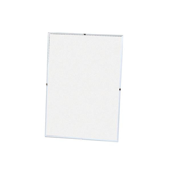 5 Star Office Clip Frame Plastic Fronted for Wall-mounting 840x594mm A1