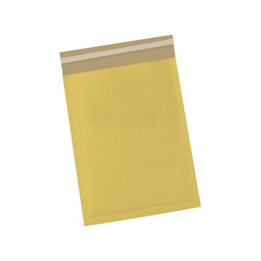 5 Star Office Bubble Bags Peel and Seal No.00 Gold 115x195mm [Pack 100]