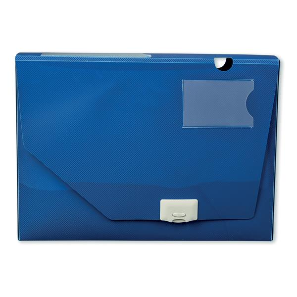 5 Star Office Document Box Polypropylene 60mm A4 Blue [Pack 10]
